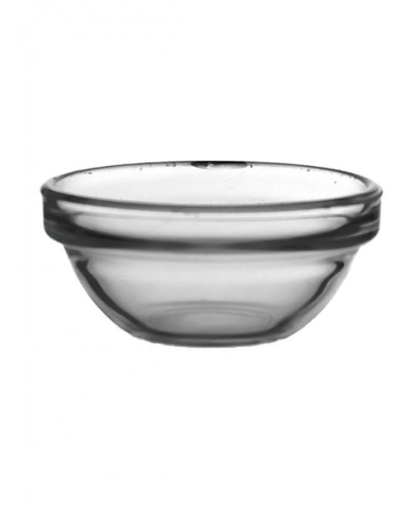 Glasschaal Jena rond 8 cm