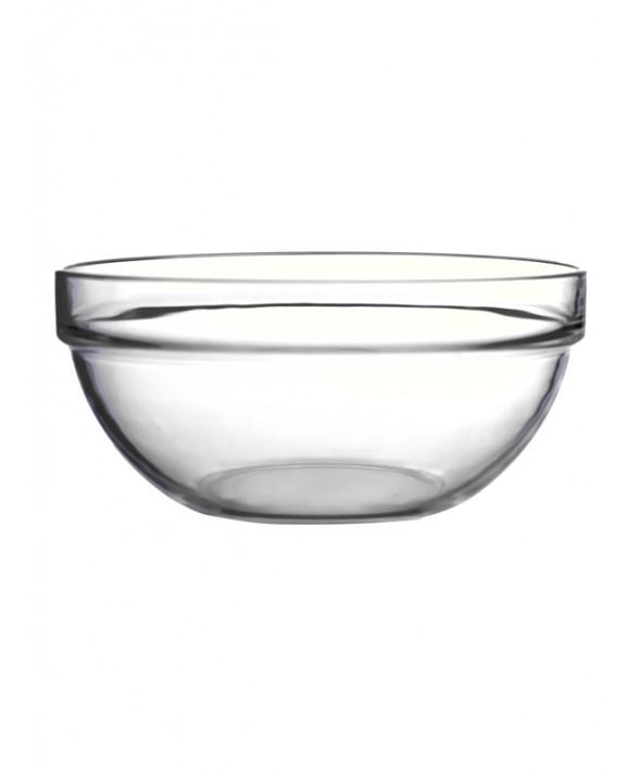 Glasschaal Jena rond 17 cm