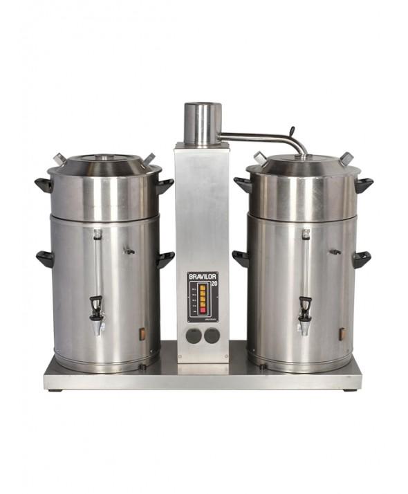 Koffiemachine 2x 20 liter (380V, 16A, 5-polig)