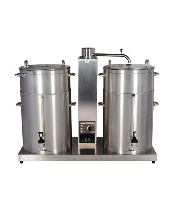 Koffiemachine 2x 30 liter (380V, 16A, 5-polig)