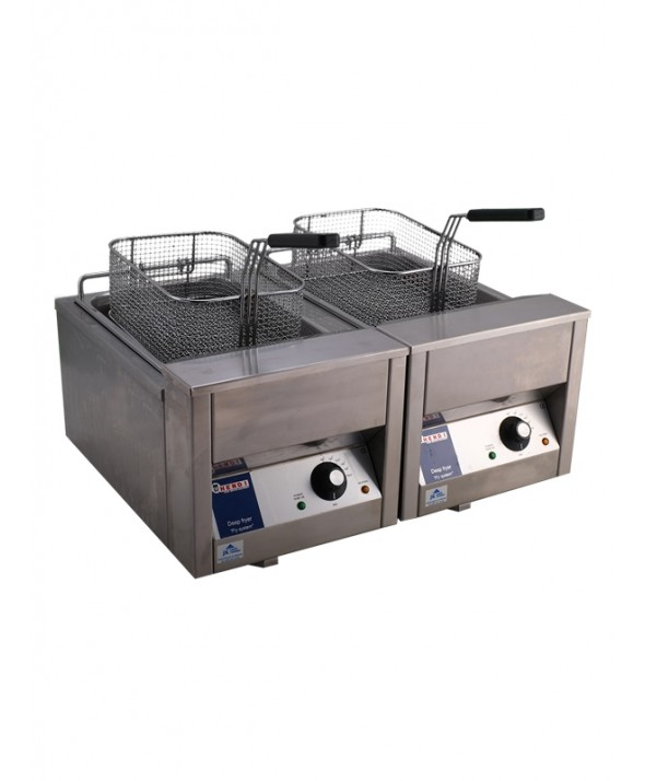 Friteuse elektrisch 2x 10 liter (220V)