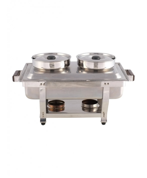 Chafing dish 2 pans