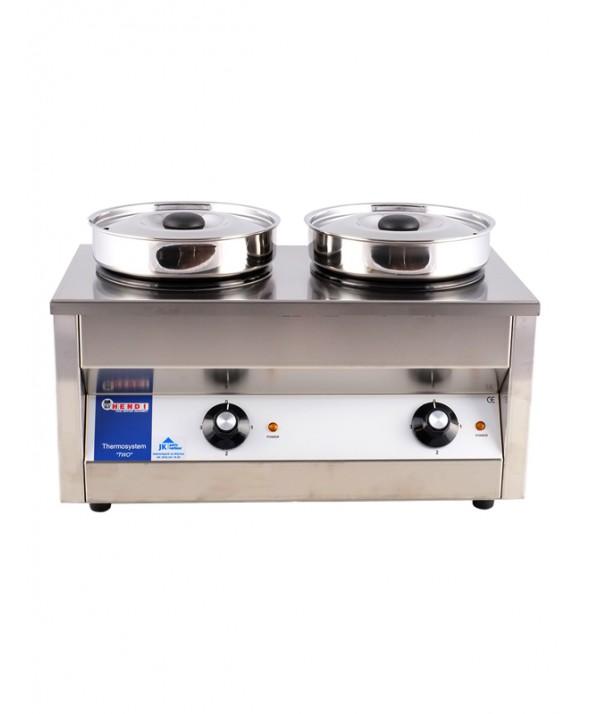 Hotpot 2-pots elektrisch 8 liter
