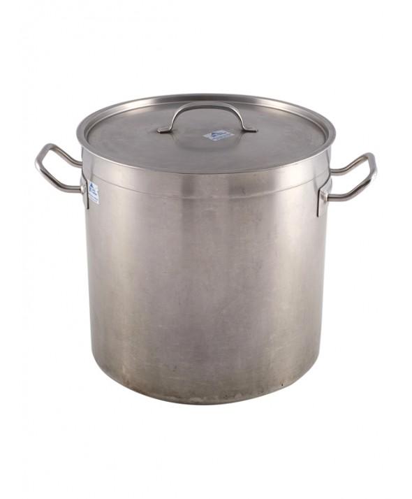25 Liter Soeppan.Kookpan Rvs 30 Liter Jk Partyverhuur