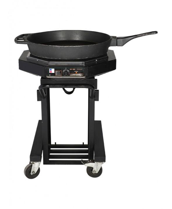 Koekenpan elektrisch rond 90 cm 50 pers.