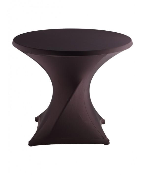 Stretchrok terrastafel zwart