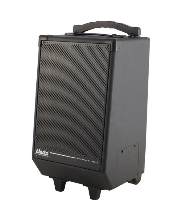 PA set 2x 150 watt met microfoon en cd-speler 220V