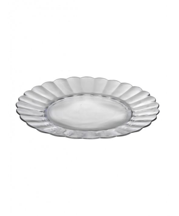 Taartschaal glas